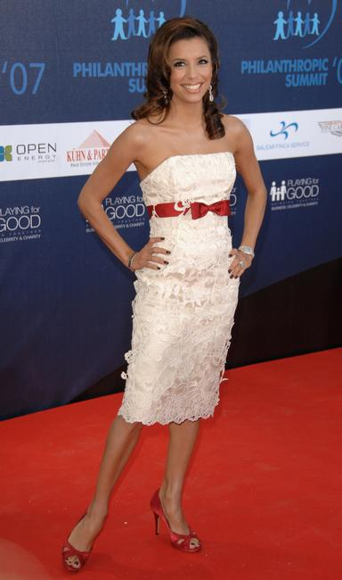 Eva Longoria Parker attends the Playing for Good Gala in Mallorca, Spain.