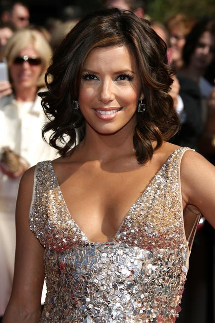 Eva Longoria Parker at the 59th Annual Primetime Emmy Awards in Los Angeles.