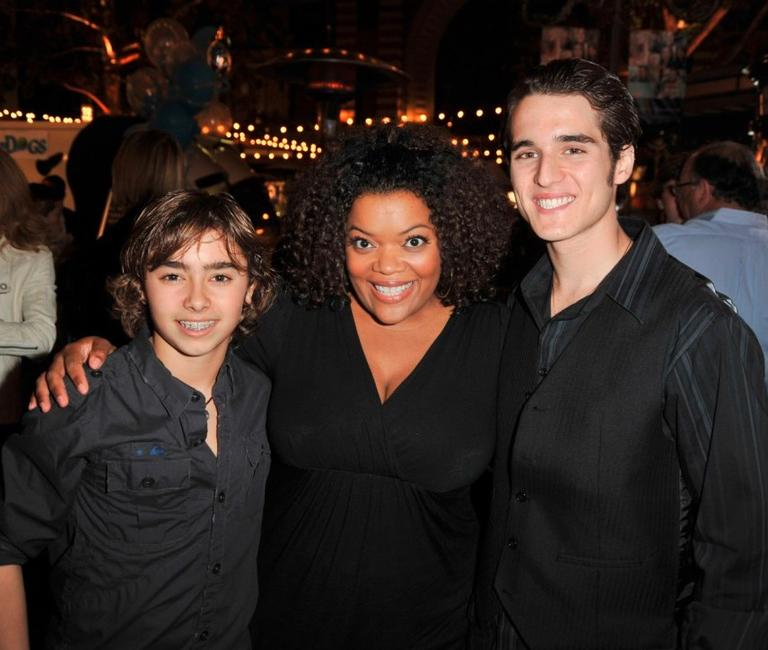 Jansen Panettiere, Yvette Nicole Brown and Daniel Samonas at the premiere of