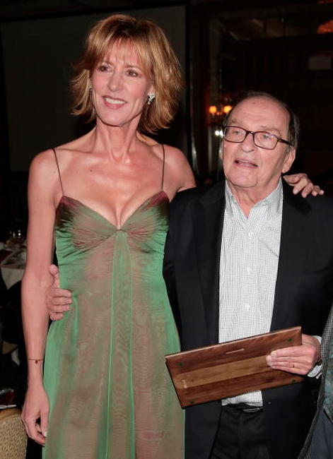 Christine Lahti and Sidney Lumet at the 2007 LA Film Critic's Choice Awards.
