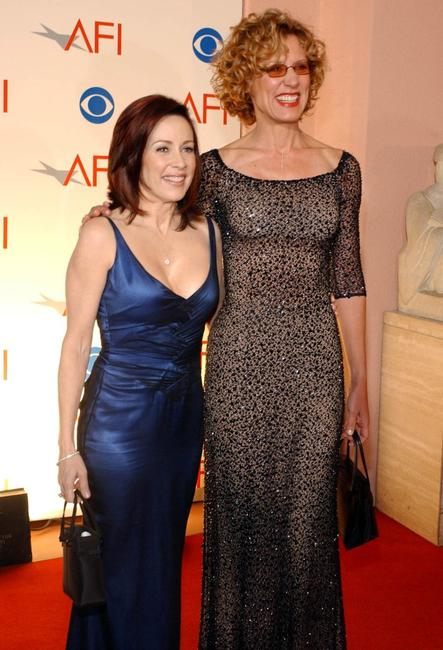 Christine Lahti and Patricia Heaton at the American Film Institute Awards.