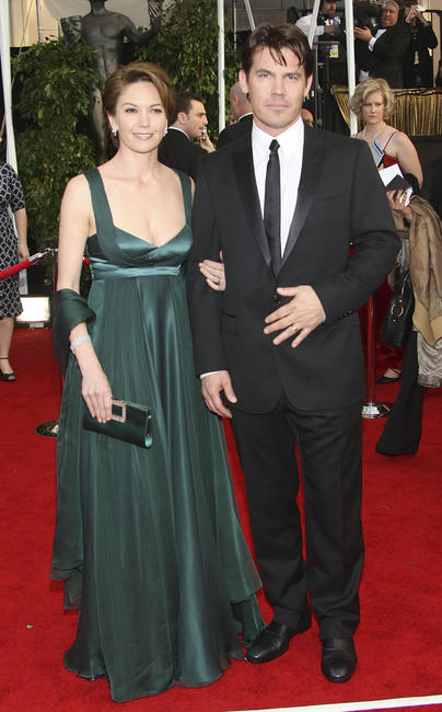 Diane Lane and Josh Brolin at the 14th annual Screen Actors Guild awards in Los Angeles.