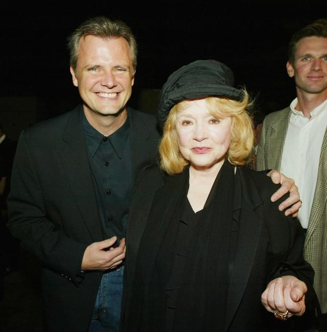 Piper Laurie and Michael Clancy at the Los Angeles Premiere of '