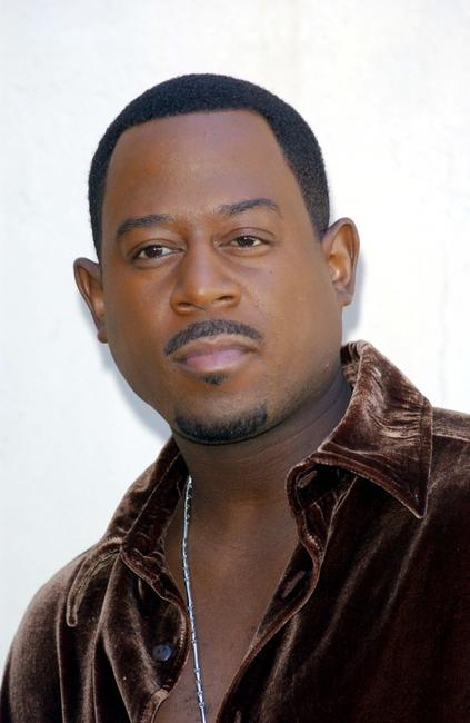 Martin Lawrence at the Spanish promotion of the
