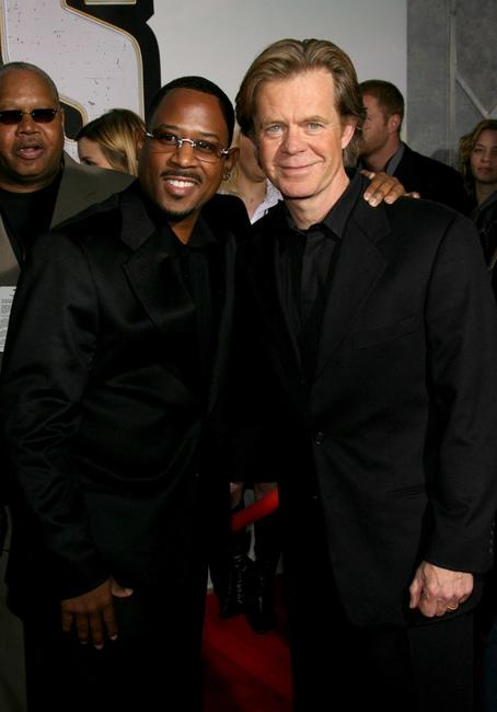 Martin Lawrence and William H. Macy at the premiere of