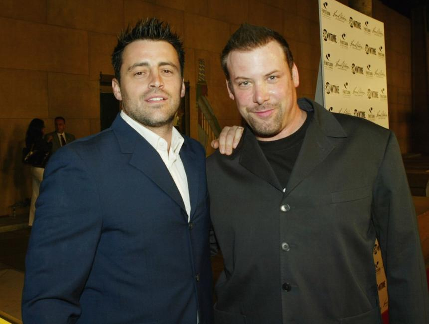 Matt LeBlanc and Producer Tommy Perna at the premiere of