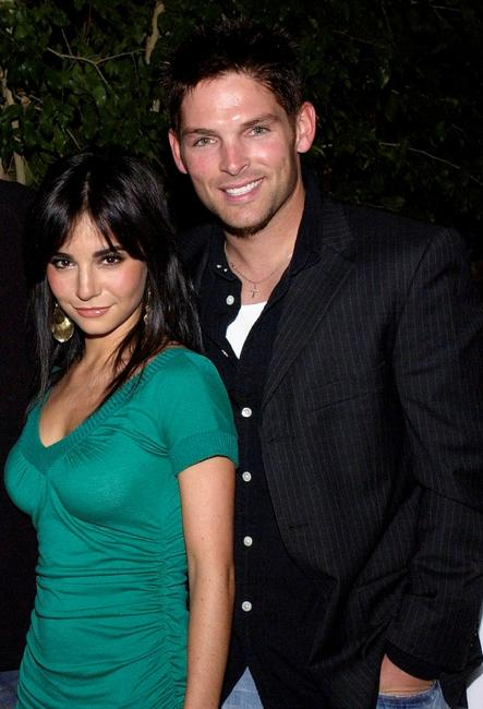 Martha Higareda and Brian Presley at the Lions Gate International AFM Cocktail Party.