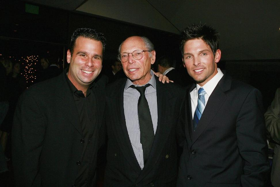 Producer Danny Dimbort Brian, director Irwin Winkler and Brian Presley at the after party of the premiere of