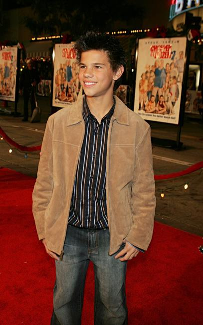 Taylor Lautner at the Los Angeles premiere of