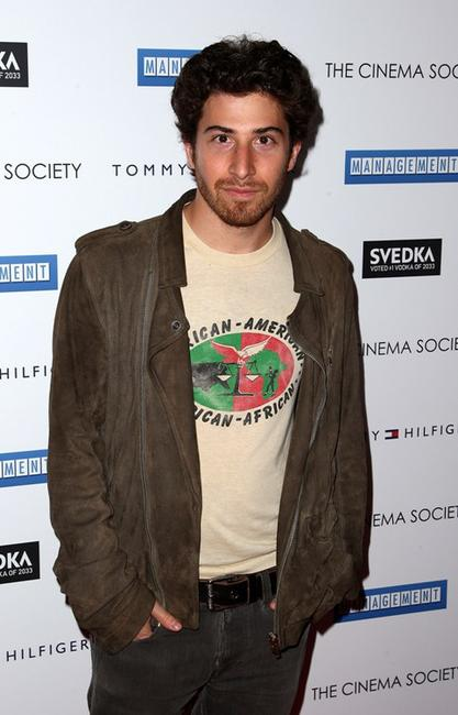 Jake Hoffman at the Cinema Society and Tommy Hilfiger screening of