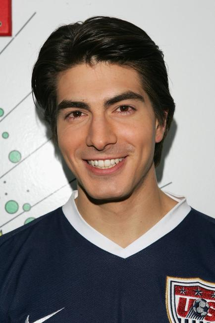Brandon Routh at the MTV's Total Request Live.