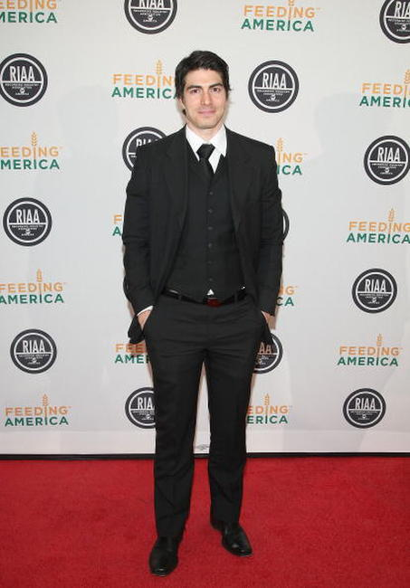 Brandon Routh at the RIAA and Feeding America's Inauguration Charity Ball.