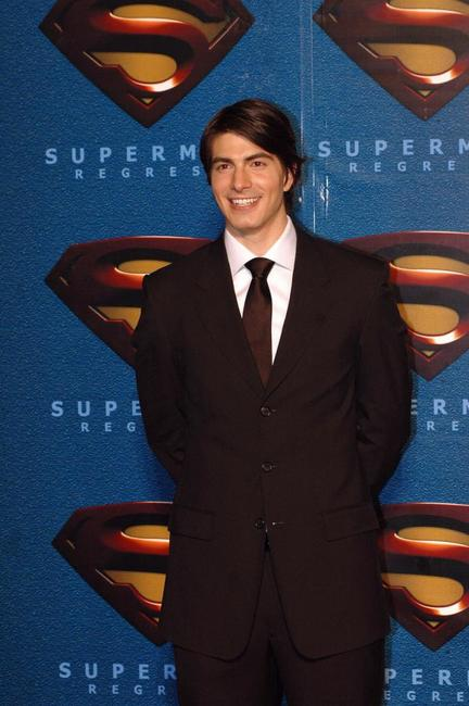 Brandon Routh at the opening of