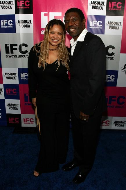 Kasi Lemmons and Vondie Curtis-Hall at the IFC party.