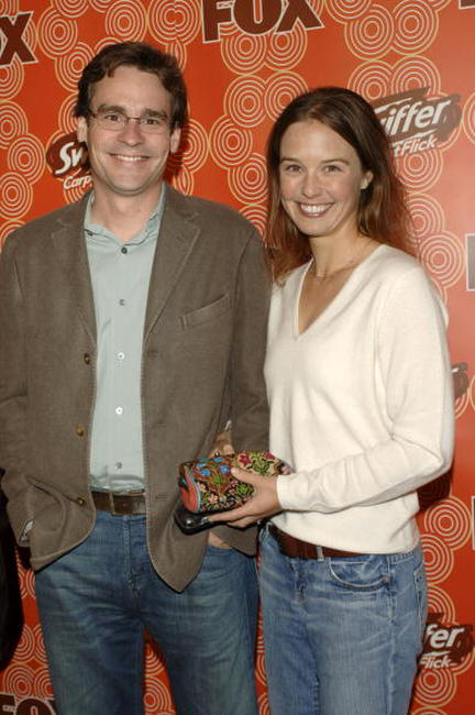 Robert Sean Leonard and Guest at the FOX Fall Casino Party.