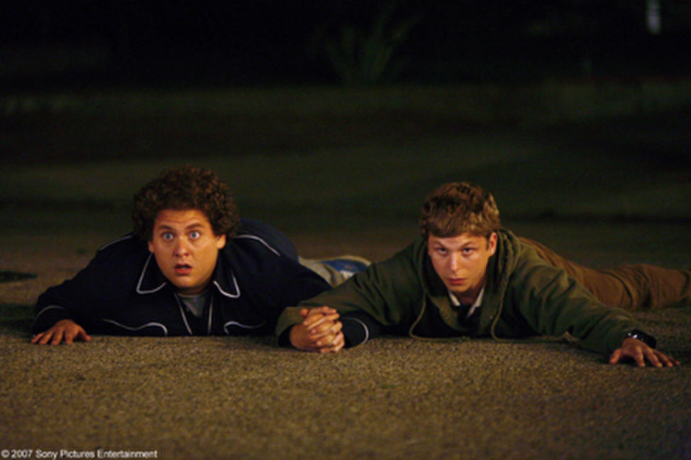Jonah Hill and Michael Cera in