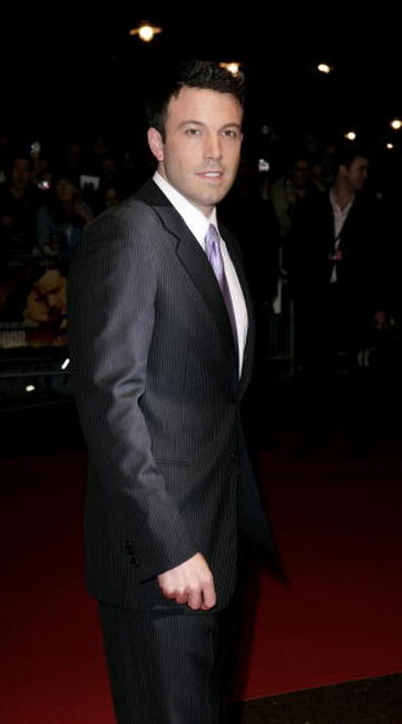 Ben Affleck at The Times BFI 50th London Film Festival screening of