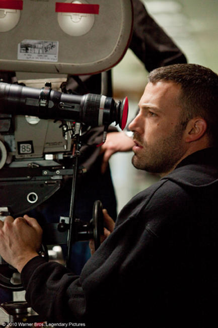 Director/Screenwriter/Actor Ben Affleck on the set of