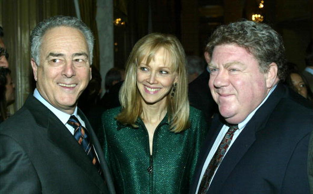 Bob Broder, Shelley Long and George Wendt at the Los Angeles Free Clinic's 27th Annual Benefit.