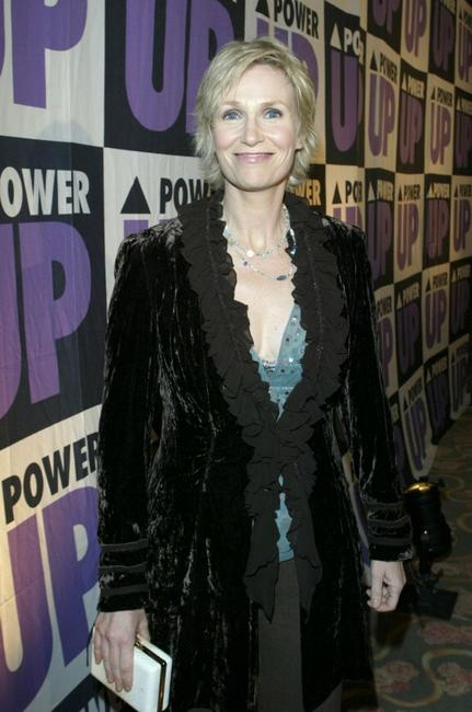 Jane Lynch at the Power Premiere Awards honoring the 10 Amazing Gay Women.