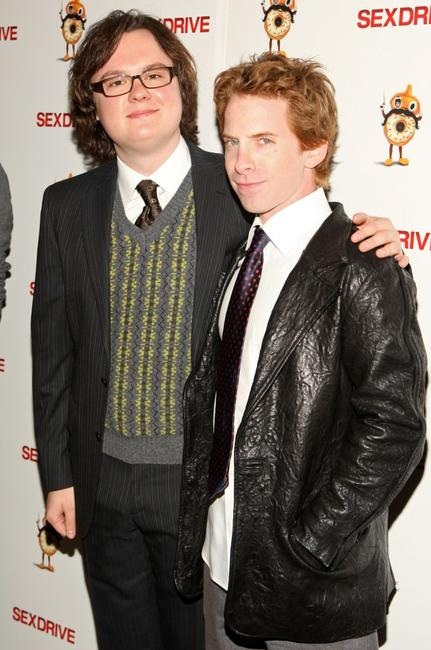 Clark Duke and Seth Green at the special screening of