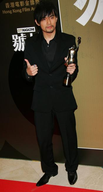 Jay Chou at the 25th Hong Kong Film Awards.