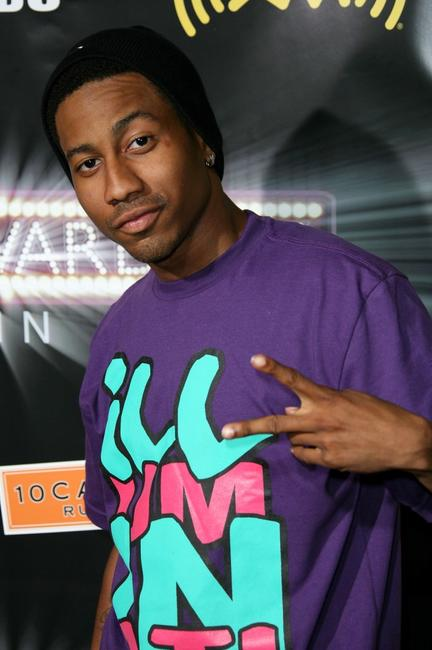 Brandon T. Jackson at the 2007 BET Awards after party.