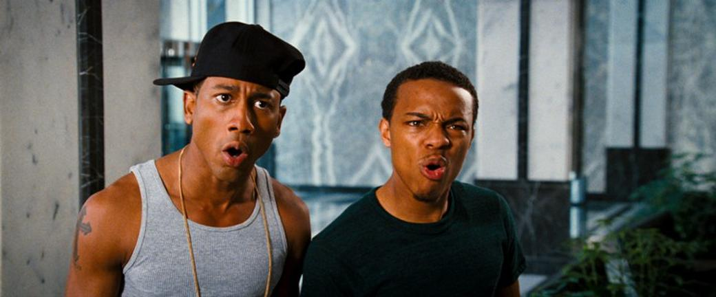 Brandon T. Jackson as Benny and Bow Wow as Kevin Carson in