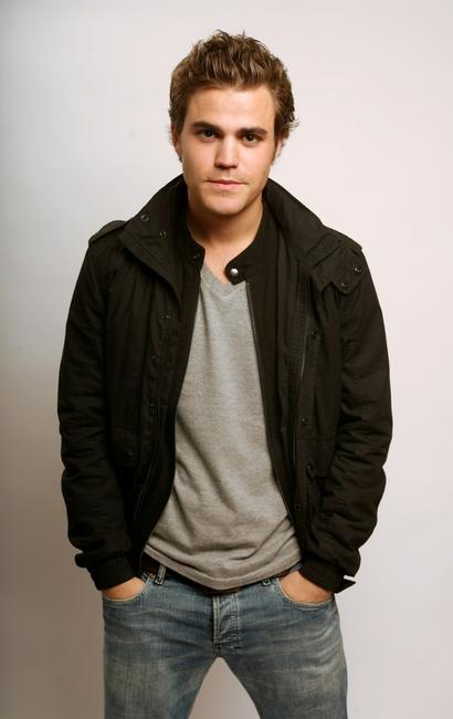 Paul Wesley at the Amex Insider's Center during the 2008 Tribeca Film Festival.