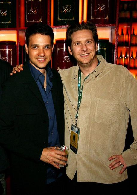 Ralph Macchio and Chris Williams at the after party of the premiere of