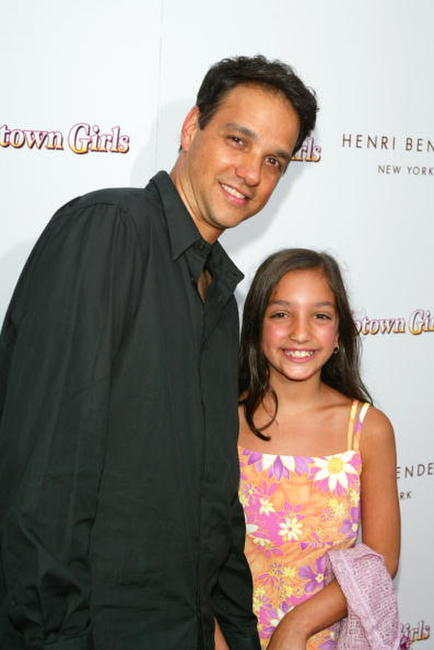 Ralph Macchio and Julie Macchio at the Southampton premiere of