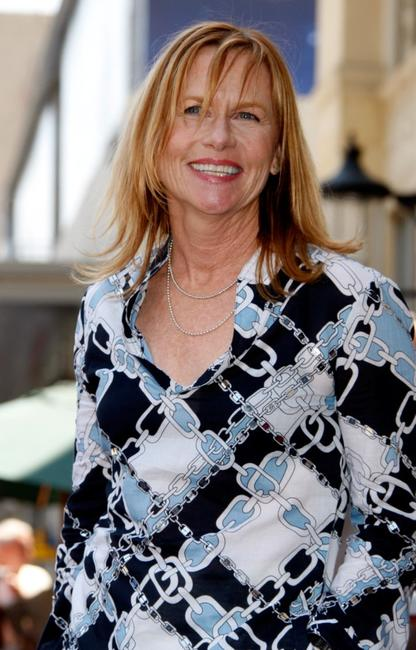 Amy Madigan at the ceremony in honor of Holly Hunter.