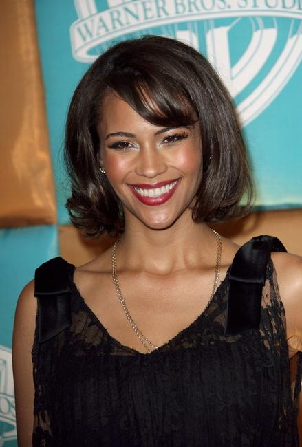 Paula Patton at the In Style Magazine and Warner Bros. Studios Golden Globe after party.