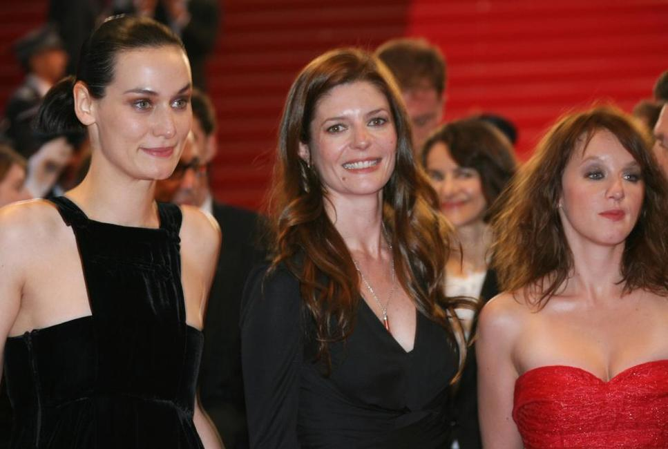Clotilde Hesme, Chiara Mastroianni and Ludivine Sagnier at the screening of