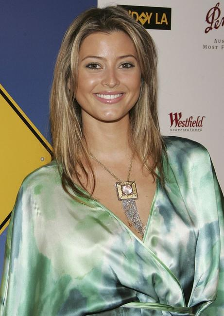 Holly Valance at the Penfolds Gala Black Tie Dinner, the kick off event for G'Day LA: Australia Week 2005.