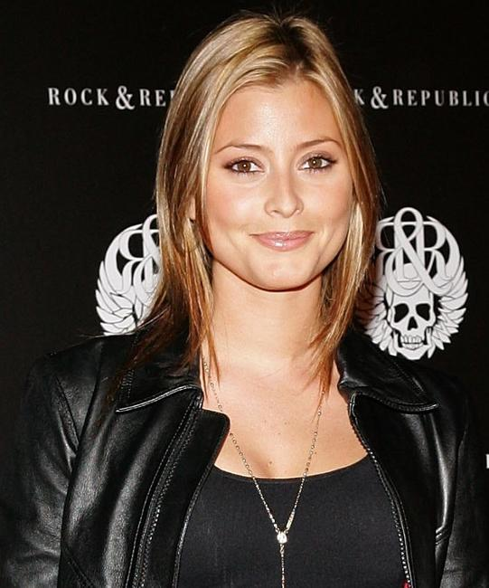 Holly Valance at the Rock and Republic Spring Collection Party.