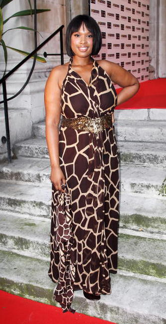 Jennifer Hudson at the Black Ball UK in aid of