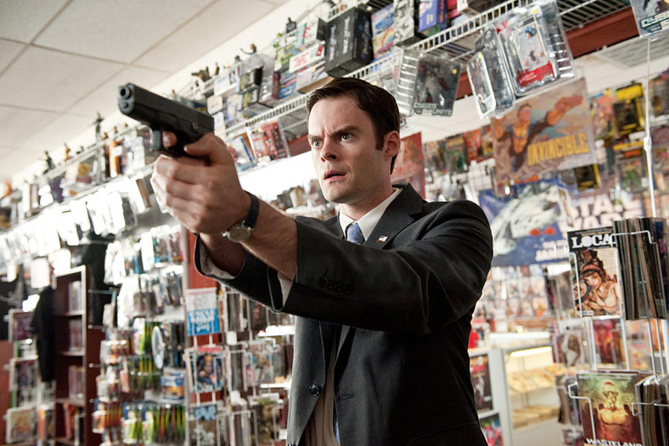 Bill Hader as Agent Haggard in