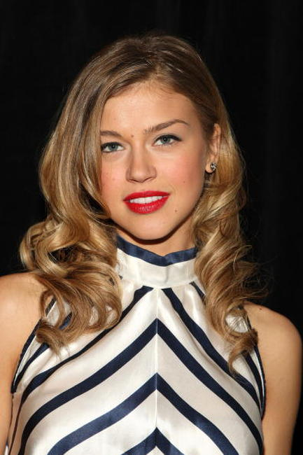 Adrianne Palicki at the Verrier Fall 2009 fashion show during the Mercedes-Benz Fashion Week.