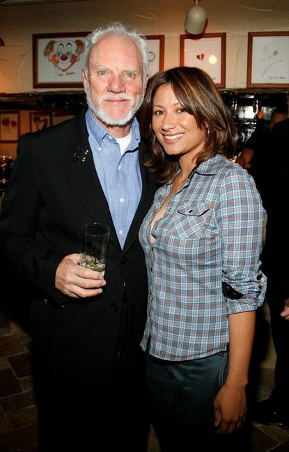 Malcolm McDowell and Amanda Cases at the 8th Annual Malibu International Film Festival Award Night.
