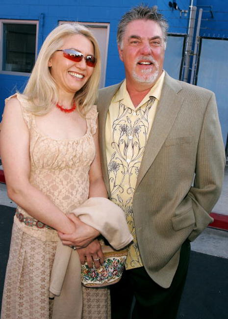 Bruce McGill and Guest at the premiere of