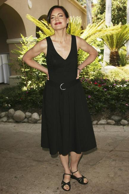 Elizabeth McGovern at the 2006 Summer Television Critics Press Tour for the ABC Family/Disney Channel.