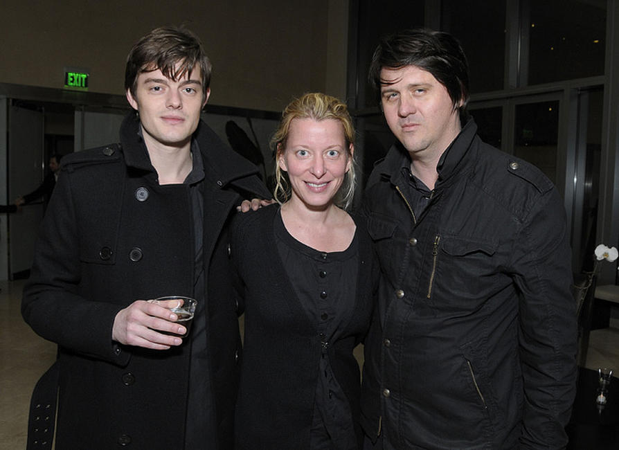 Sam Riley, executive vice president of acquisitions for The Weinstein Company Michelle Krumm and producer Orian Williams at the California premiere of