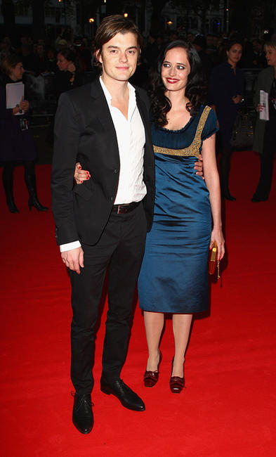 Sam Riley and Eva Green at the world premiere of