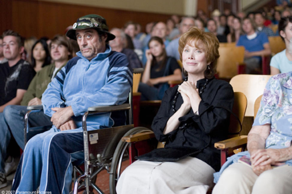Frank (Ian McShane) and Marie Powell (Sissy Spacek) come out in support of Marie's son in