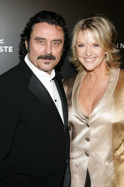 Ian McShane and his wife Gwen Humble at the 8th Annual Costume Designers Guild Awards.