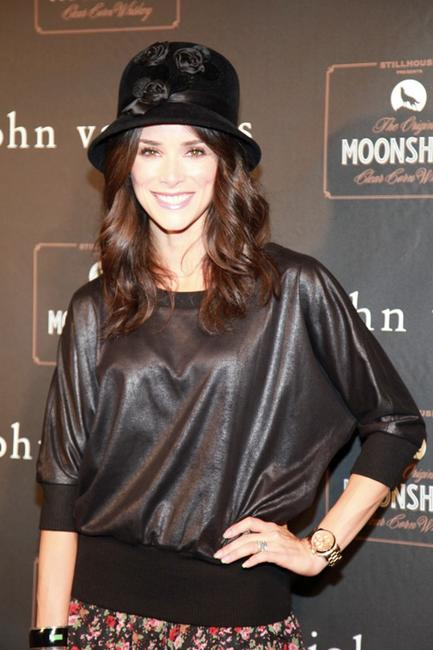 Abigail Spencer at the John Varvatos 10th Anniversary party.