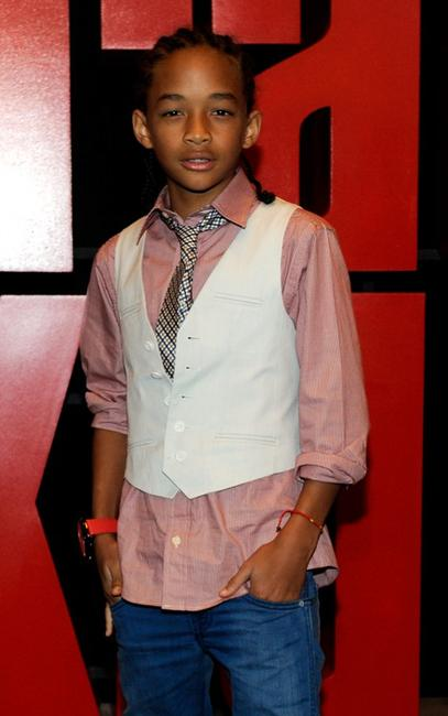 Jaden Smith at the screening of