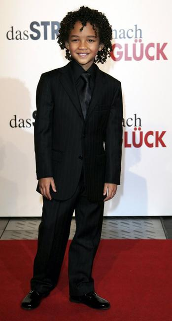 Jaden Smith at the German premiere of
