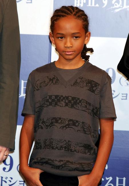 Jaden Smith at the press conference of